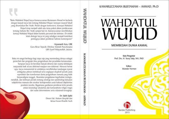 Coming soon! Buku WAHDATUL WUJUD; Membedah Dunia Kamil